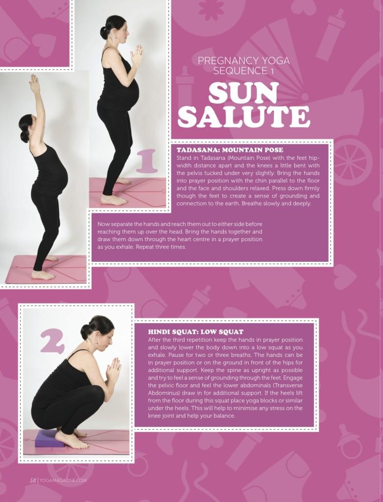 Sally Parkes - Pregnancy Yoga