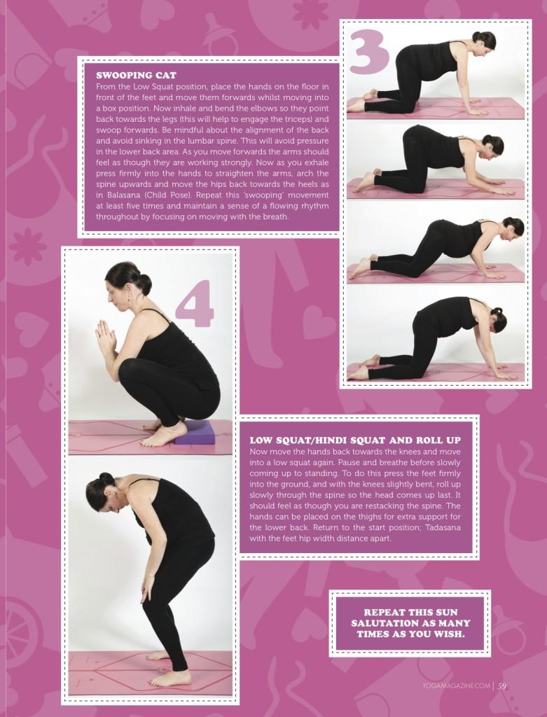 Sally Parkes - Pregnancy yoga 2