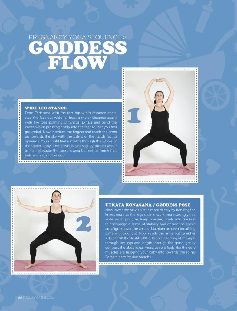 Sally Parkes - Pregnancy yoga 3