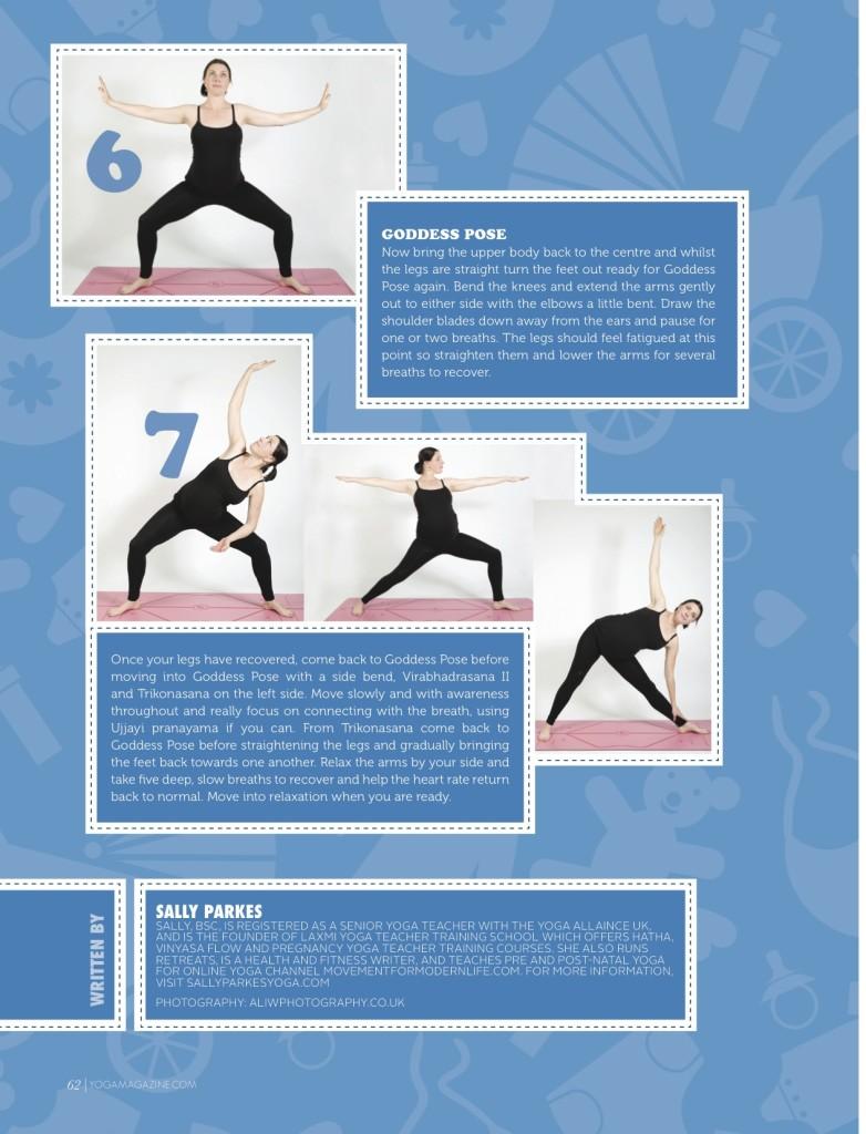 Sally Parkes - Pregnancy yoga 4