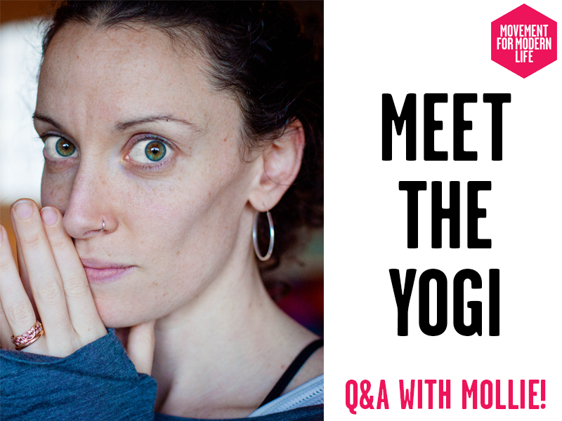 Meet The Yogi Mollie