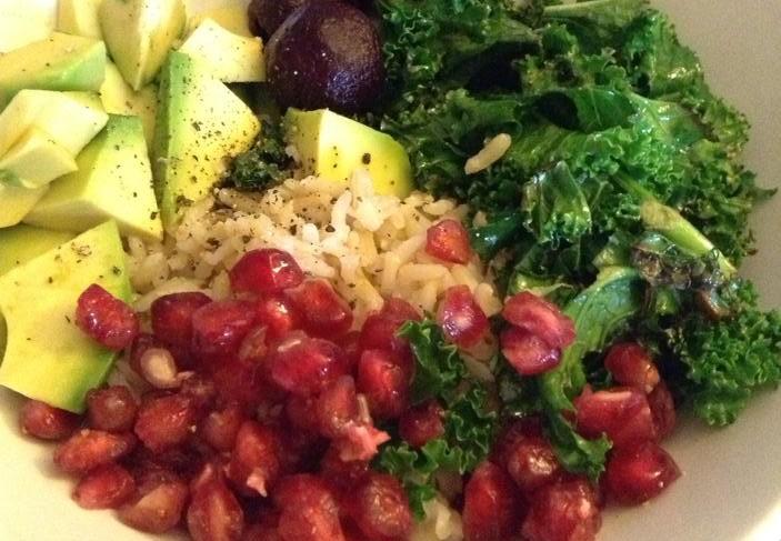 Healthy rice bowl[6]