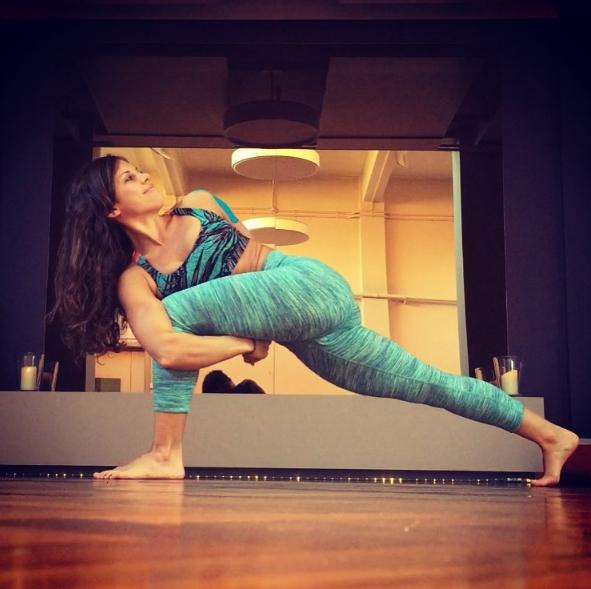 yoga pants sylvia garcia