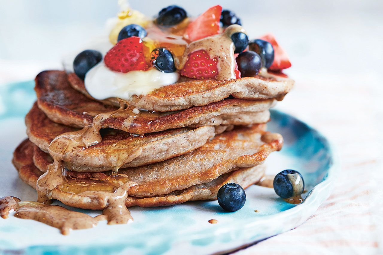 pancake day nut butter