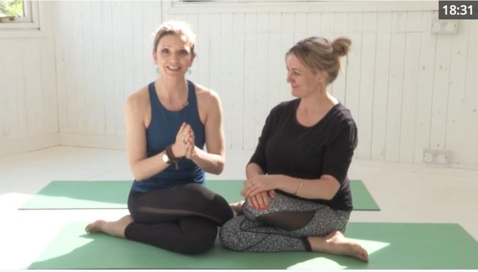 karma yoga class