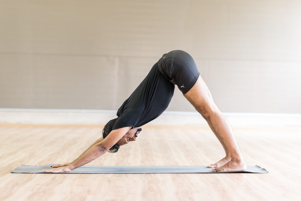 downward facing dog, yoga, yoga benefits