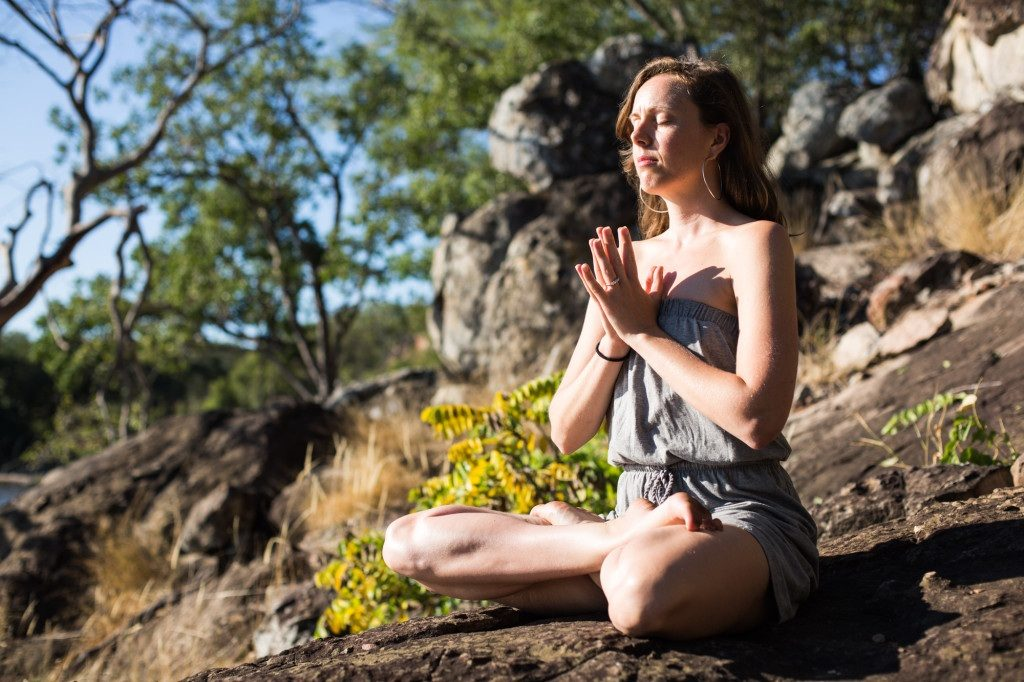 Lucy McCarthy, nature, yoga