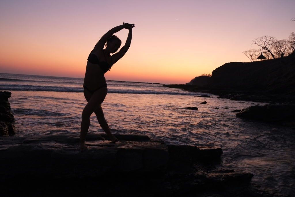 Lucy McCarthy, yoga, nature