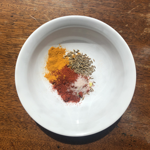 Spices for Tofu Scramble Brunch