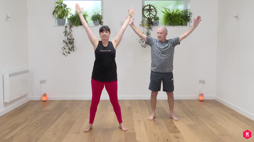 yoga with older relatives