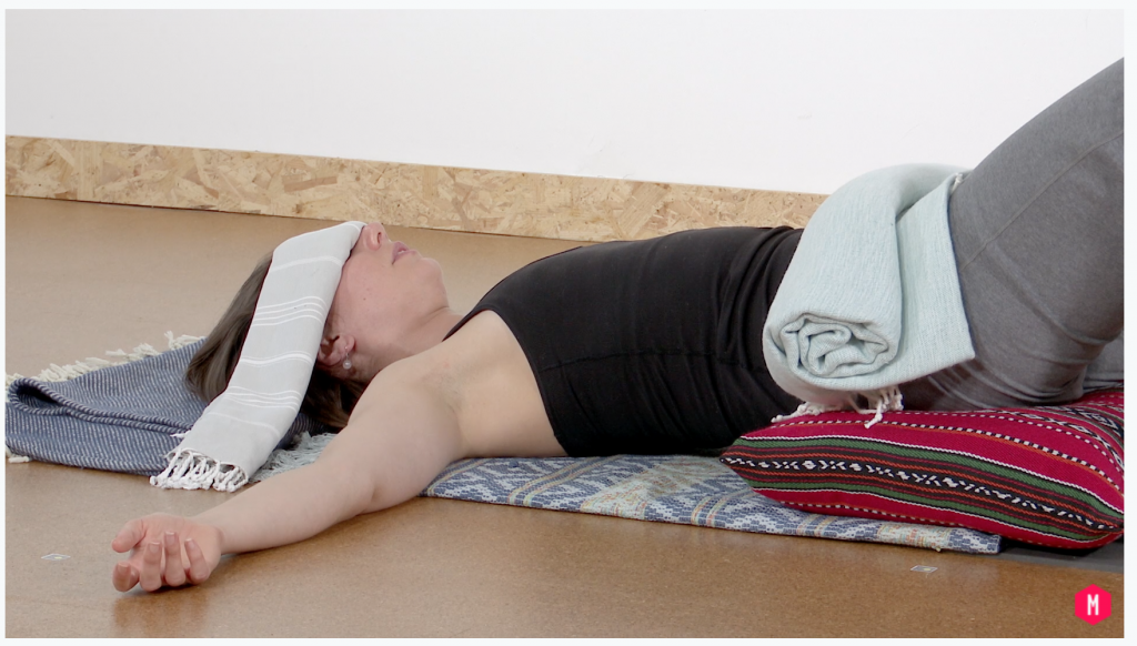 Restorative Yoga cultivating vitality