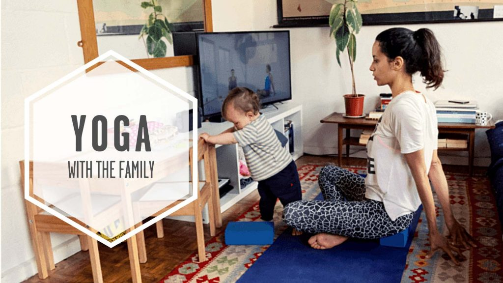 yoga with family