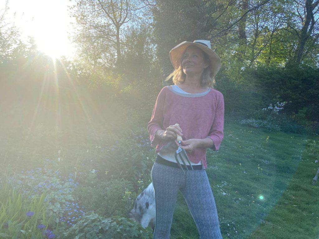 Yoga and Gardening