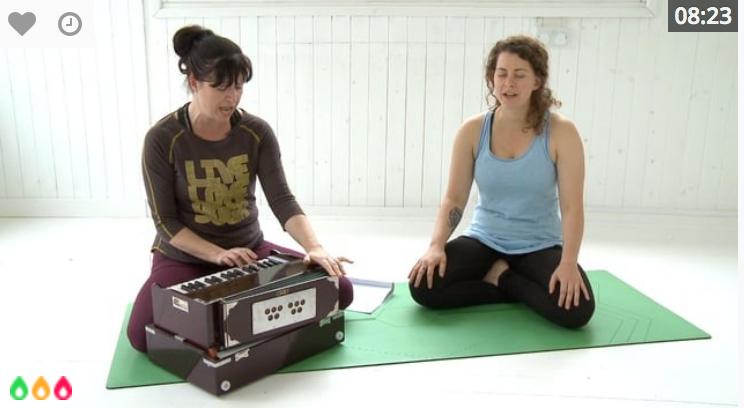 Yoga and Chanting