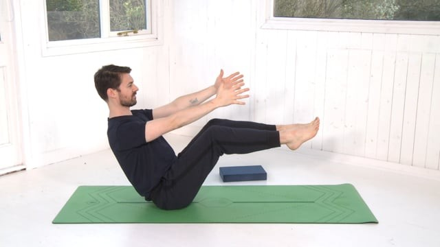 Boat Pose (Navasana) Tutorial