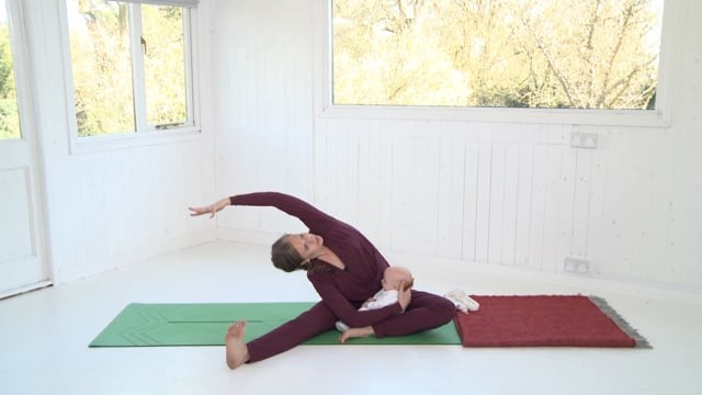 Mum and Baby Yoga Class