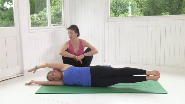 Inner Axis Learn To Breathe Yoga Class By Max Strom
