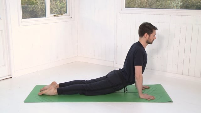 Upward Facing Dog tutorial