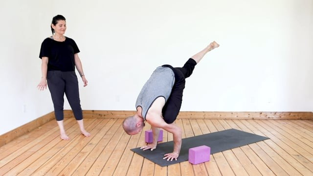 Flow Towards Flying Pigeon Pose