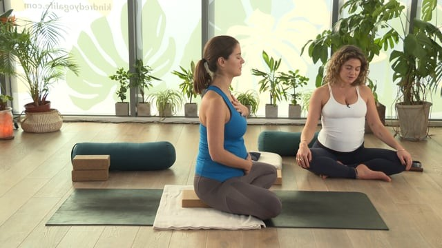 Pregnancy Restorative Yoga with Nidra