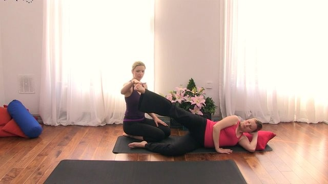 Trimesters 2 & 3: Vinyasa flow