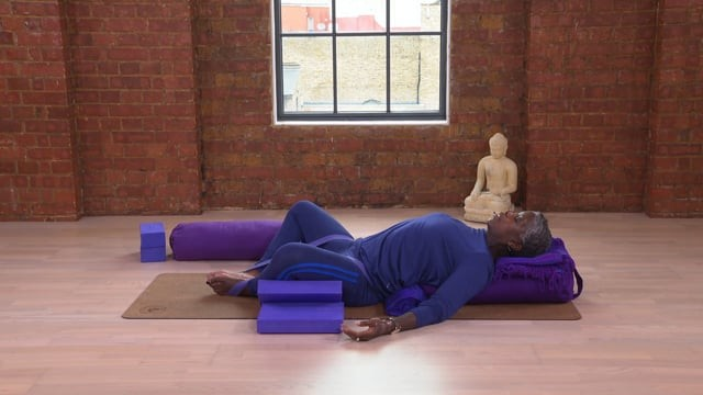 Two Key Restorative Yoga Poses
