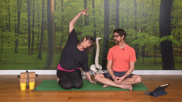 Yoga Tutorial for a Healthy Spine