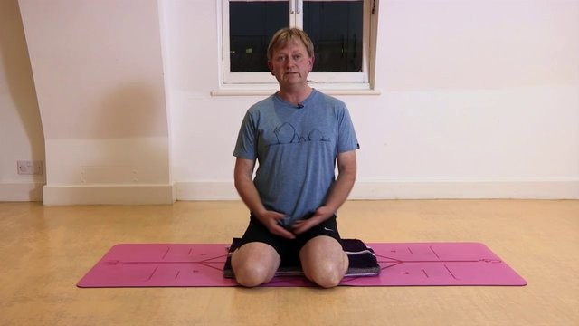 Meditation: Sitting comfortably