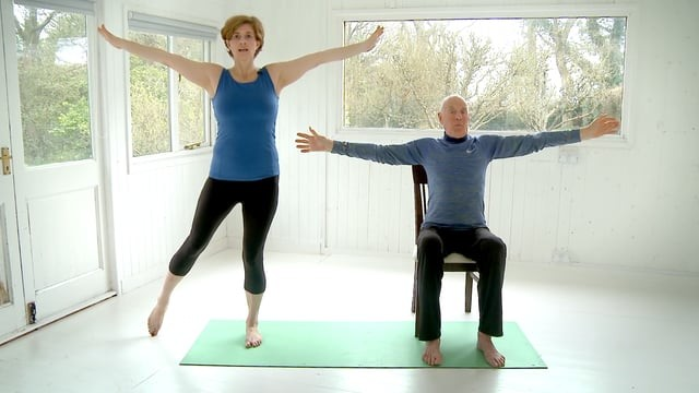 Chair and Limited Mobility Yoga Sequence - Flexion & Extension