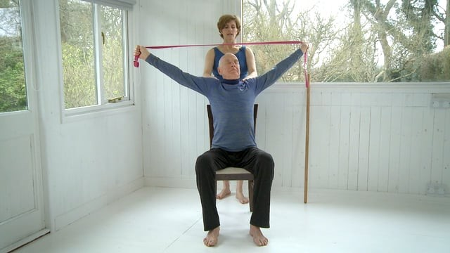 Chair Yoga: Shoulders and Spine
