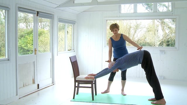 Chair-Modified Sun Salutations