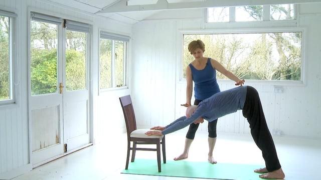 Chair-Modified Sun Salutations