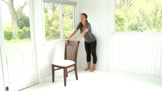 Chair and Wall Yoga for Limited Movement and Seniors