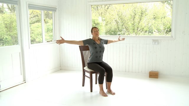 Chair-based Yoga for Lymphatic Flow
