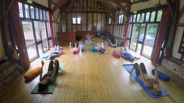 Live at Yoga Garden Party: Decompression - Yoga for self-care