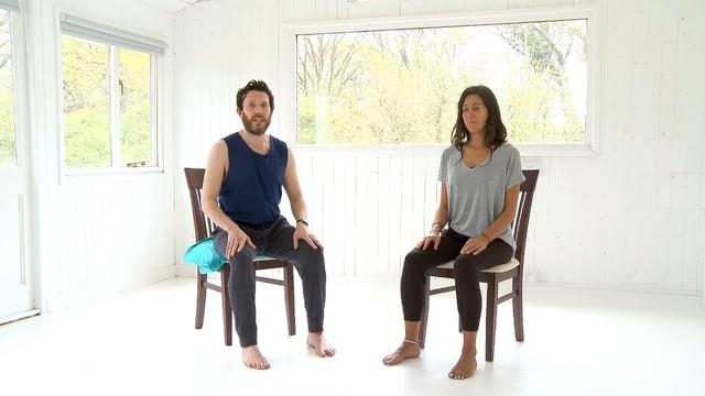 Chair Yoga - Full Practice