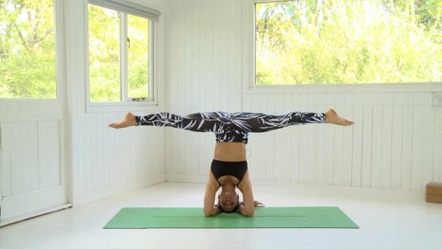Headstand Challenge - Yoga Challenge